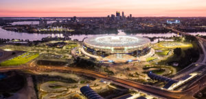 Optus stadium interview with project director Ronnie Hurst
